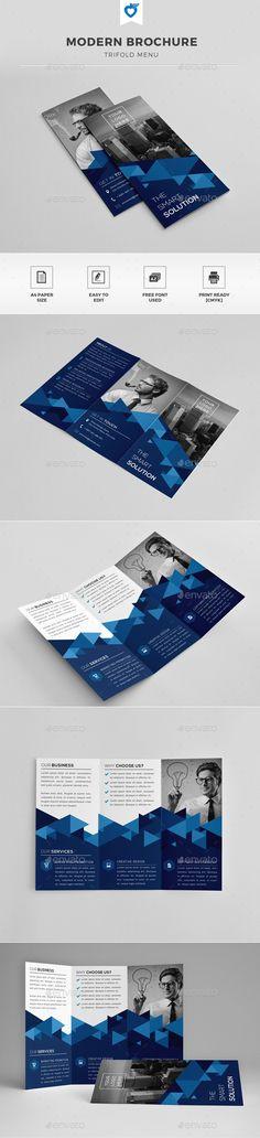 Trifold Brochure Template #design Download: http://graphicriver.net/item/trifold-brochure/11812531?ref=ksioks