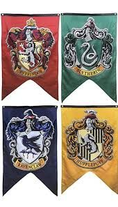 Toys & Hobbies Enthusiastic New Harri Potter Party Supplies College Flag Banners Gryffindor Slytherin Ravenclaw Kids Gift Toys Magic Cosplay Home Decoration Profit Small
