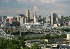 Cincinnati, OH ~ beautiful city!