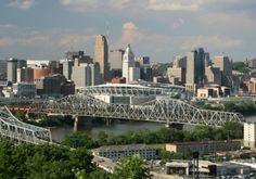 Cincinnati, OH ~ beautiful city!