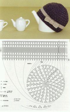 Best 12 Crochet Hat free pattern by leanna Crochet Diy, Bonnet Crochet, Mode Crochet, Crochet Baby Hats, Crochet Beanie, Crochet For Kids, Crochet Crafts, Crochet Clothes, Crochet Projects