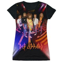 """Checkout our #LicensedGear products FREE SHIPPING + 10% OFF Coupon Code """"Official"""" Def Leppard/on Stage-s/s Junior Poly T- Shirt - Def Leppard/on Stage-s/s Junior Poly T- Shirt - Price: $24.99. Buy now at https://officiallylicensedgear.com/def-leppard-on-stage-s-s-junior-poly-t-shirt-licensed"""