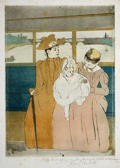 In the Omnibus  Mary #Cassatt