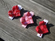 Valentines Day Heart Clip by emmyscloset on Etsy, $3.00