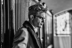 Michael Pitt as Hannibal's Mason Verger (Photo by David Slade). From Huffington Post interview with Bryan Fuller.