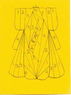 kimono iris folding template | kimono pattern Images kimono pattern Pictures & Graphics - Page4
