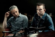 JD McPherson and Jimmy Sutton have the most excellent hair in rock n' roll. (And the music is flippin' awesome too!)