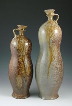 Amphora, Flasks, & Bottles « ericbotbyl Pottery Vase, Ceramic Pottery, Ceramics, Flasks, Jars, Baskets, Bottles, Table, Ceramica