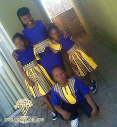 Venda kids Venda Traditional Attire, Traditional Wedding Attire, Traditional Styles, African Traditional Dresses, African Fabric, African Dress, African Weddings, African Print Fashion, African Beauty