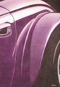 Plum Crazy Artist: Edward Baranski Water Media on Paper Close Up Art, Love Art, Original Artwork, Purple Things, Plum, Artist, Painting, Watercolor, Paper