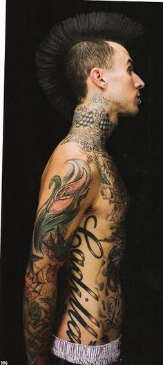 Travis Barker #tattoo