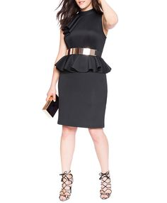 7 Sizzling Summer Evening Looks for Plus-Size Women
