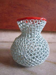 Paper Quilling 3D Vase (3)