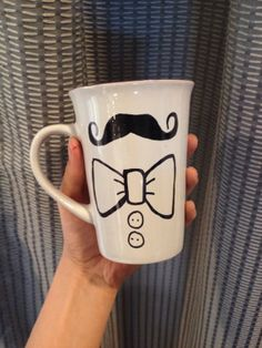 Hipster Father's Day Mug by aCupofNostalgia on Etsy, $12.00   #fathersdaygift
