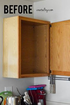 Take the plunge & make your clunky cabinets look more inviting