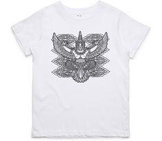 El Cheapo Asian God (Black) Youth White T-Shirt