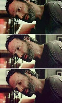 you know SOMETHINGS about to go down when Rick does the Head tilt