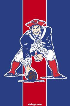 New England Patriots *minuteman