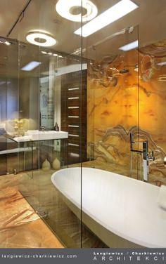 Łazienka. Projekt i realizacja: lengiewicz-charkiewicz.com #bathroom (fotografia: Aleksander Rutkowski)