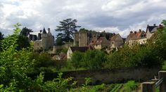 En Touraine, le vieux village de Montrésor.
