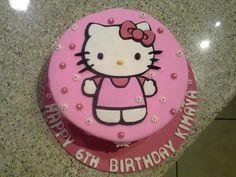 Hello Kitty Cake Hello Kitty Cake, 3d Cakes, Birthday Cakes, Homemade, Desserts, Food, Hello Kitty Cake Design, Tailgate Desserts, Deserts