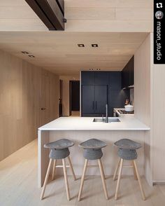 #Repost @mason_studio  Our model suite for Cabin Condominiums. The full project photos are now up on our website. #cabincondo #modelsuite #kitchen #interiordesign #toronto #45dovercourt by moco_loco