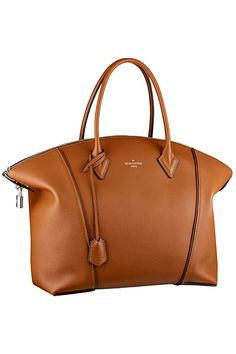 #LouisVuitton Camel New Lockit Tote Bag - Fall 2014
