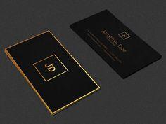 Luxury Business Card by Ninjas on @creativemarket