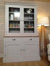 New Solid Pine Welsh Dresser Kitchen Unit Shabby Chic Painted Farrow&B in Home, Furniture & DIY, Furniture, Cabinets & Cupboards Kitchen Dresser, Kitchen Paint, Farrow And Ball Kitchen, Welsh Dresser, Pine Dresser, Shabby Chic Zimmer, Kitchen Units, Kitchen Storage, Kitchen Ideas