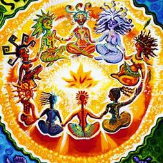 Sun, Jun PM: The description of the event, Cast Off Your Cloak/Live in Your Essential Shakti GODDESS Skin! LA Women Circle, is available only to members. Psychedelic Art, Mandala Lunar, Éphémères Vintage, Sacred Feminine, Devine Feminine, Goddess Art, Visionary Art, Mother Earth, Healing