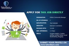 Search online jobs in india in 1 click post your resume to apply for a job seeking platform that allows employers to post and job seekers to search candidates can make their own talentkare talent acquisition in india resume thecheapjerseys Image collections