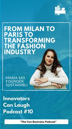 In this episode of Innovators Can Laugh, I sat down with Maria Sas, founder of Sustainibli. We discussed her experience studying in Milan and Paris, working as a fashion designer, and working to launch the first action-oriented community centered web platform for students and professionals within the fashion industry. Web Platform, Bucharest, Industrial Style, Sustainability, Milan, Innovation, Paris, Fun, Students