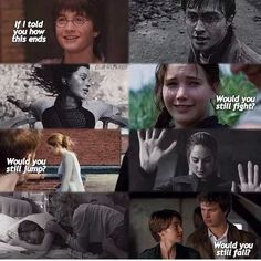 ~Harry Potter~~The Hunger Games~~Divergent~~The Fault in Our Stars~