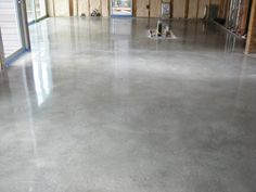 polished concrete floors residential concrete polishing or ...