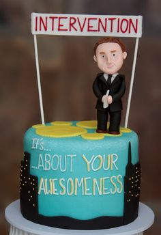 This Party is Going to be LEGEN... Wait for it... DARY! LEGEN_DARY! How i Met your Mother Cake - María Andrée Couture Cakes