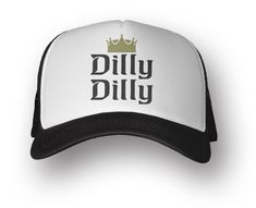 b6ae2eeb3980b Amazon.com   Dilly Dilly trucker hat - adjustable snapback polyester cap -  rrcrafted   Sports   Outdoors