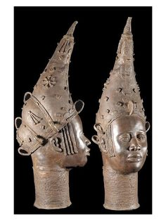 Queen mother Tete Bronze. The Kingdom of Benin, south of the current Nigeria, is renowned for its magnificent bronzes and ivory sculptures. These works are one of the greatest treasures of humanity and are among the cornerstones of museums worldwide.