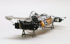Vintage McLaren Formula 1 car,   sans wheels