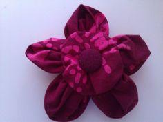 """Suffolk Puff"" flower brooch (medium) £7.50"