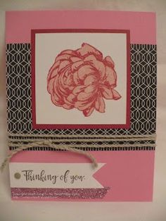 The Inky Scrapper: January Stamp of the Month Blog Hop: Beloved Bouquet #MakeItFromYourHeart #CTMHLaVieEnRose