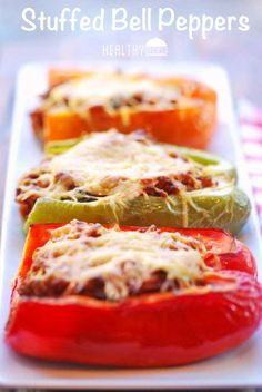 ... bell peppers and peanuts dad s stuffed bell peppers recipe
