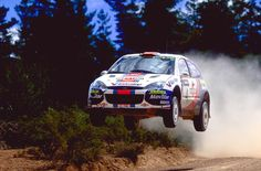 Colin McRae doing what he did best.