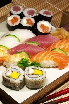 Sushi. Is there anything else?