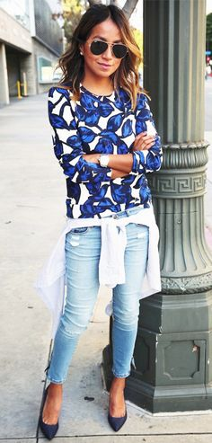 Blue print.