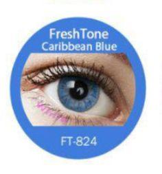 Caribbean Blue Coloured Contact Lens