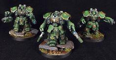 40k - Salamanders Space Marine Centurions by Myles David