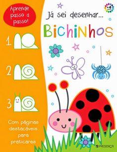 Livros Junior e Juvenil: Já Sei Desenhar… Bichinhos
