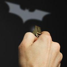 Batman Light Signal Key Chain