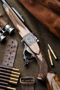 "450-400 3"" Westley Richards Farquharson rifle."