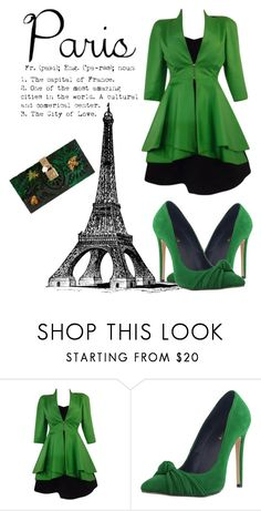 """""""Paris fall"""" by pink-roosje ❤ liked on Polyvore featuring Claude Montana and Dolce&Gabbana"""